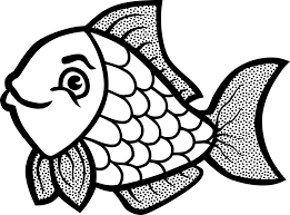 fish coloring pages itgod