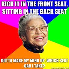 Rosa Parks Meme - rosa parks friday