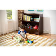 amazon com next steps bookcase u0026 toy storage espresso cell