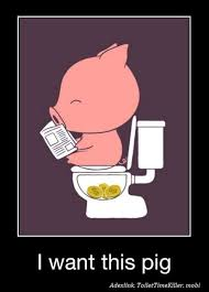 Funny Pig Memes - cute rich pig w630