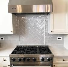 Grey Subway Tile Backsplash Kitchen Goals Pinterest Gray - Grey subway tile backsplash