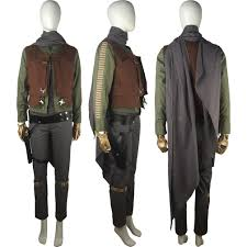 Rogue Halloween Costume Rogue Star Wars Story Jyn Erso Cosplay Costume Jacket Vest