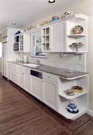White Kitchen Wall Cabinets Idea Added A Wine Cubby At The End Of The Wall Cabinets