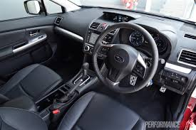 subaru impreza wrx 2017 interior 2015 subaru impreza 2 0i s review video performancedrive