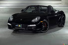 porsche boxster black edition 2012 porsche boxster s black edition review