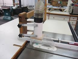 Table Saw Dust Collection by Universal Tablesaw Blade Guard Dust Collection