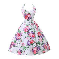 aliexpress com buy womens summer style 50s 60s vintage audrey