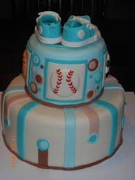 it u0027s a piece of cake sports baby boy shower cake