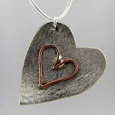 make silver necklace images Make your own silver pendant studio budgie galore jewellery jpg