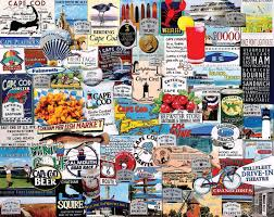 amazon com white mountain puzzles i love cape cod jigsaw puzzle
