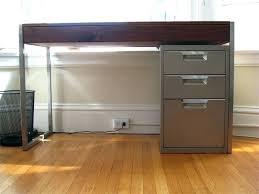 Desk With File Cabinet Desk File Cabinets File Cabinet Design Counter File