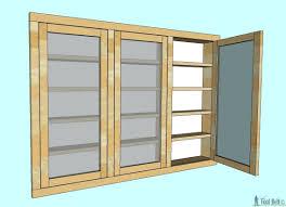 recessed medicine cabinet wood door bathroom medical cabinets