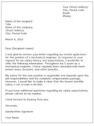 include salary requirements in cover letter 6590
