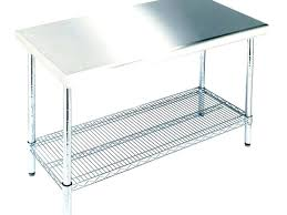 small stainless steel kitchen table decoration stainless steel kitchen tables full size of decorating