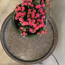 home le forge furniture and decoration garden pot metal tray gifts homewares decoration home