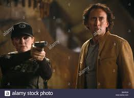 nicolas cage julianne moore directed by lee tamahori stock photo