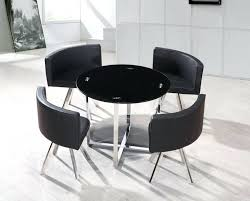 dining table with hidden chairs dining table with hidden chairs round table hidden chairs black