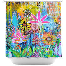 Unique Shower Curtains Unique Shower Curtains From Dianoche Designs By Robin Mead