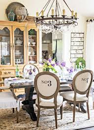 a simple spring table in the dining room tidbits u0026twine
