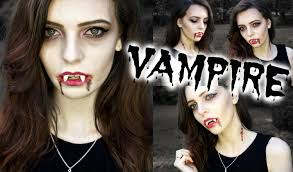 easy halloween vampire makeup youtube