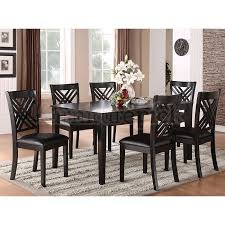 7 dining room sets 7 black dining room set 8489