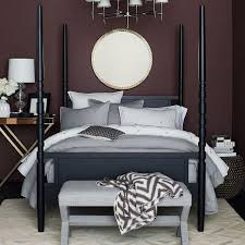 West Elm Bedroom Furniture by Tabitha Poster Bed West Elm
