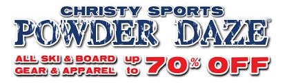 Christy Ski And Patio Christy Sports Powder Daze