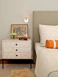 bedroom cool nightstand ideas with unique bedside table ideas