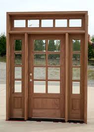 exterior french doors with sidelights and transom change glass