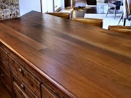 countertops tx walnut face grain custom wood islnad top waterlox