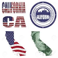 United States Map Abbreviations by California State Collage Map Stamp Word Abbreviation In