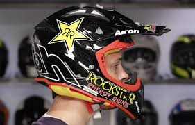 rockstar motocross helmets airoh aviator 2 1 helmet review at revzilla com youtube