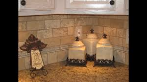kitchen tumbled travertine tile kitchen backsplash ideas youtube