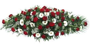 flower for funeral floristry services in huddersfield white