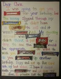 candy bar birthday cards fugs info