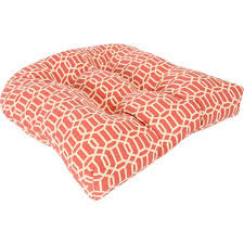 tufted wicker outdoor seat cushion multiple patterns walmart com