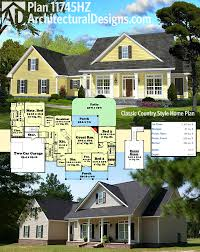 country style house plans plan 11745hz classic country style home plan country style