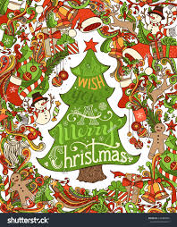 bright merry christmas background merry christmas stock vector