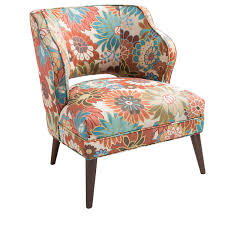 Jcpenney Accent Chairs Madison Park Lynn Armless Floral Print Mod Chair