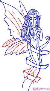 how to draw anime fairies step by step fairies fantasy free