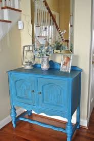 Entry Way Table Diy Chalk Paint Entryway Table Makeover No Plate Like Home