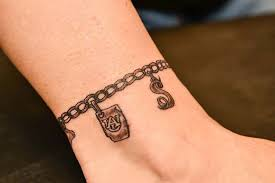 charm bracelet tattoos for wrist search potential tattoos
