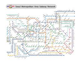 Subway Station Map by Seoul Subway Metro Map English Version Updated