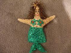 santa starfish ornament gifts ornaments
