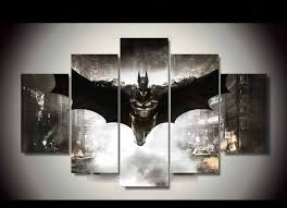 Knight Home Decor 5 Piece Canvas Hd Batman Home Decor Dc World Shop Http