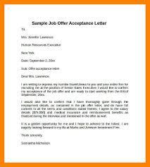 12 sample job acceptance letter job apply form