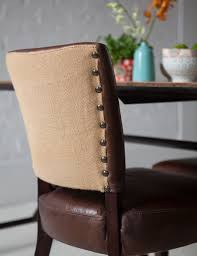 Vintage Leather Club Chair Vintage Leather Dining Chair At Rose And Grey Furniture