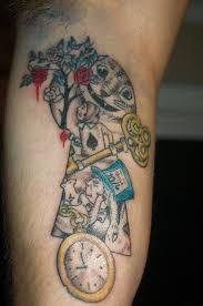 wonderland tattoo by coquiwinfrey on deviantart