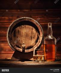 whiskey photography glass whiskey bottle keg ice cubes image u0026 photo bigstock