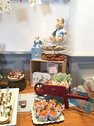 rabbit baby shower beatrix potter rabbit mr mcgregor garden themed baby shower